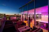 Chapter South Bank Student Accommodation Sky Lounge at Night