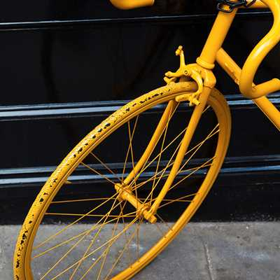 Portobello Yellow Bike