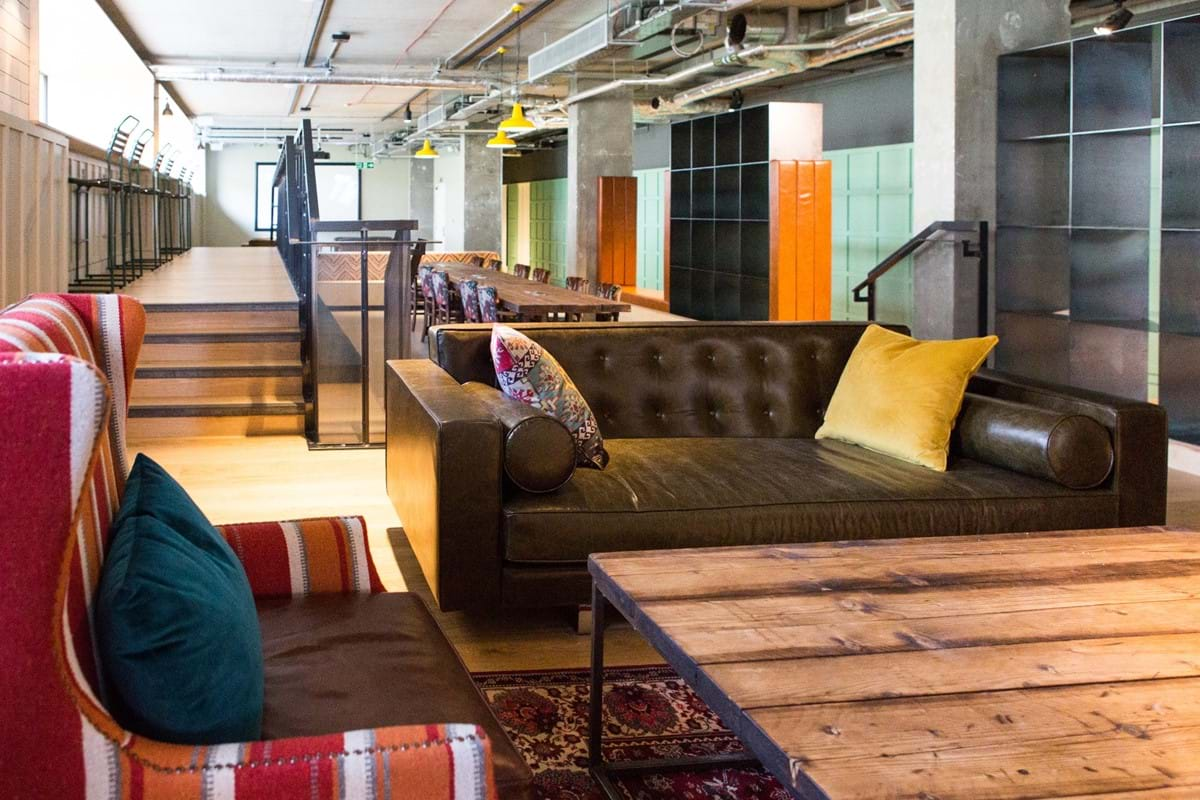 Chapter Portobello Student Accommodation Social Space