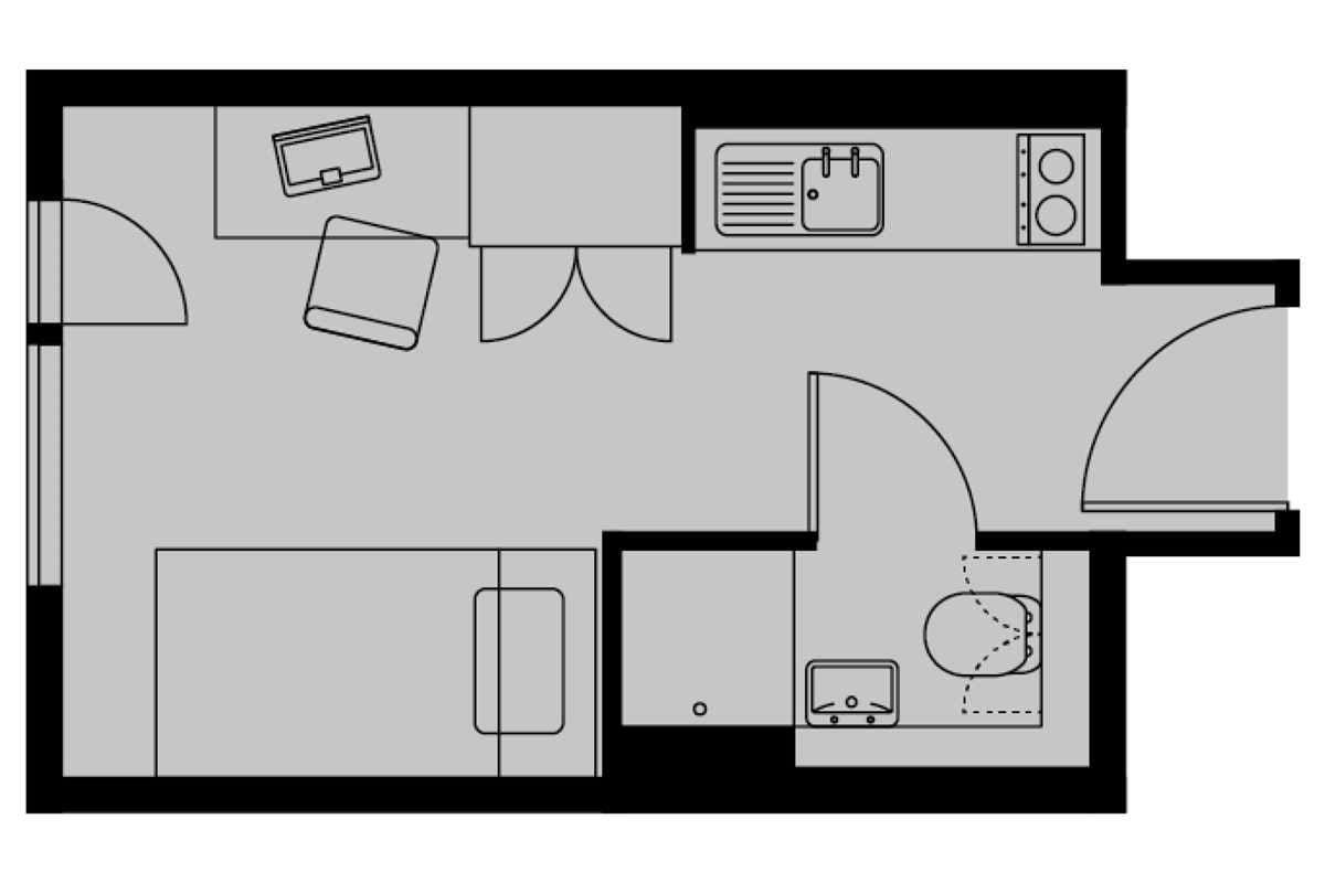 Silver Studio Floorplan