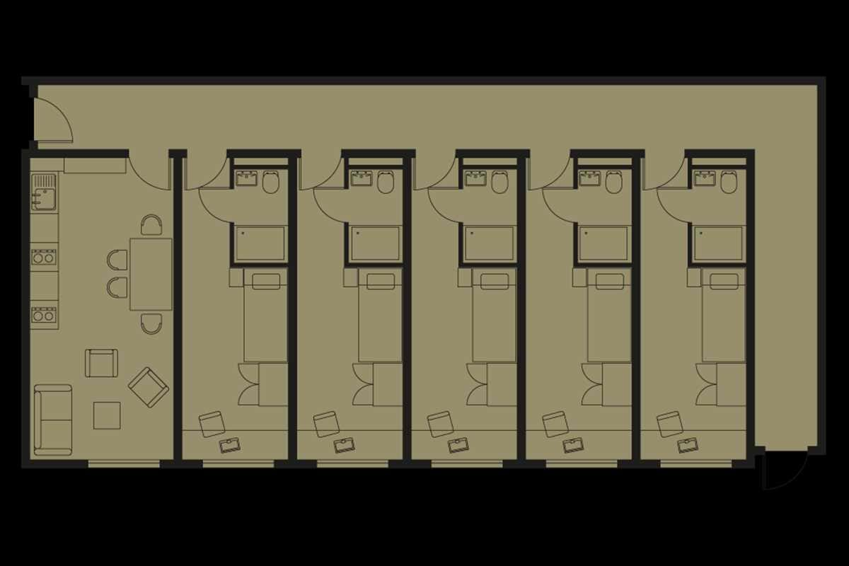 Bronze En Suite Floorplan