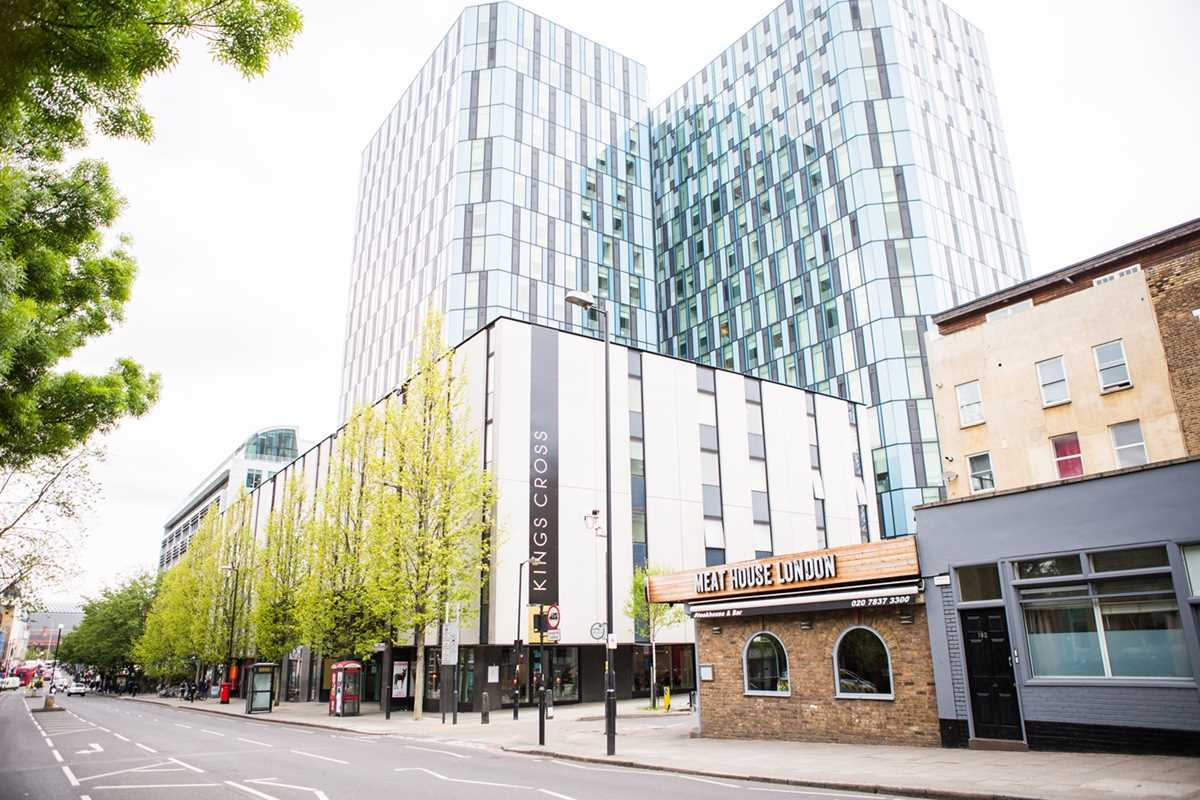 Chapter Kings Cross Student Accommodation is ideally situated minutes walk from King's Cross St. Pancras Station