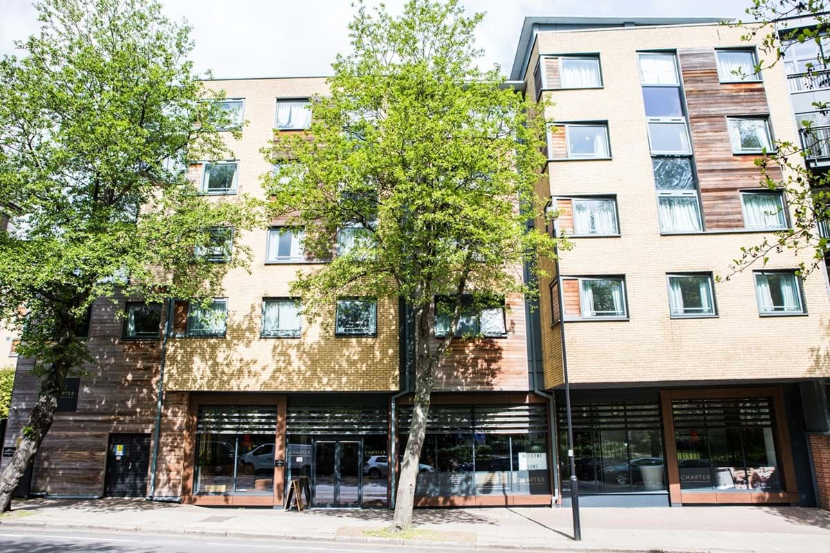 Chapter Islington Student Accommodation is ideally located minutes walk from Caledonian Road Tube Station
