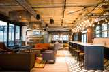 Chapter Aldgate Student Accommodation - The ground floor social space is perfect for hanging out, studying, or a drink with friends and guests