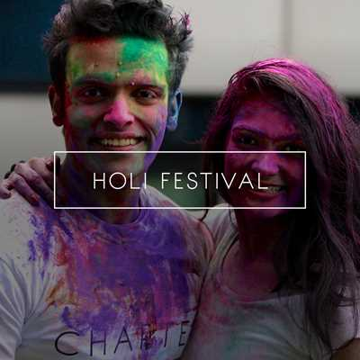 Chapter London Student Accommodation Holi Festival