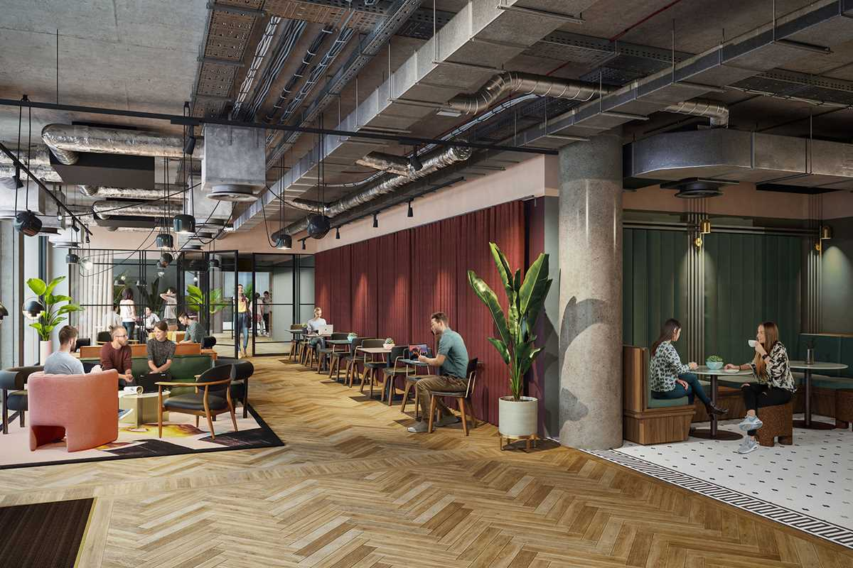 Spitalfield's refreshed lounge area will be the perfect space to catch up with friends or study